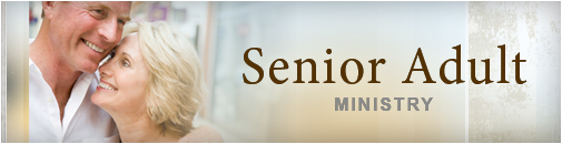 The Senior Adult Ministry program is a vital part of our church